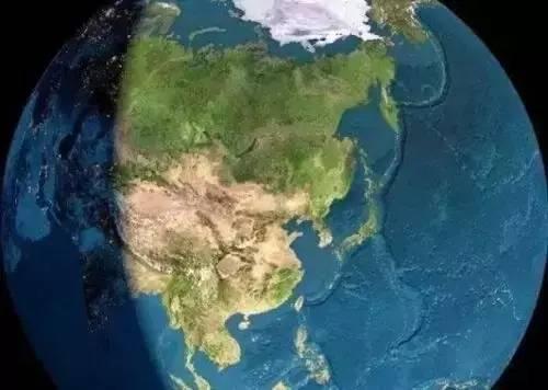 中國Google森林分佈地圖